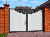 Ворота распашные, фото 7