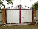 Ворота распашные, фото 6