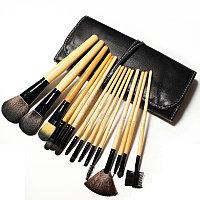 Кисти для макияжа 15 штук в черном чехле, фото 1