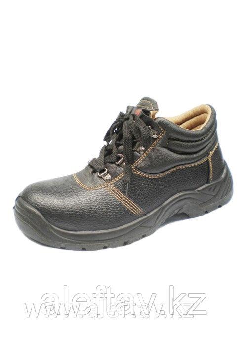 Летняя защитная обувь Армстронг, EN 20 345, S1 Натуральная кожа, усиленный подносок, подошва полиуретан.