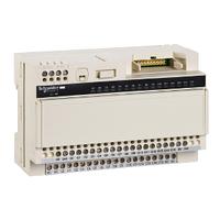 База пассивная 16 выходов =24В светодиод с предохранителем для модулей расширения Modicon