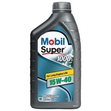 Моторное масло Mobil Super 1000 15W40 1L