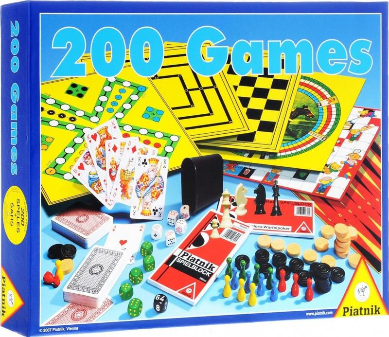 Игра настольная 200 игр + шахматы