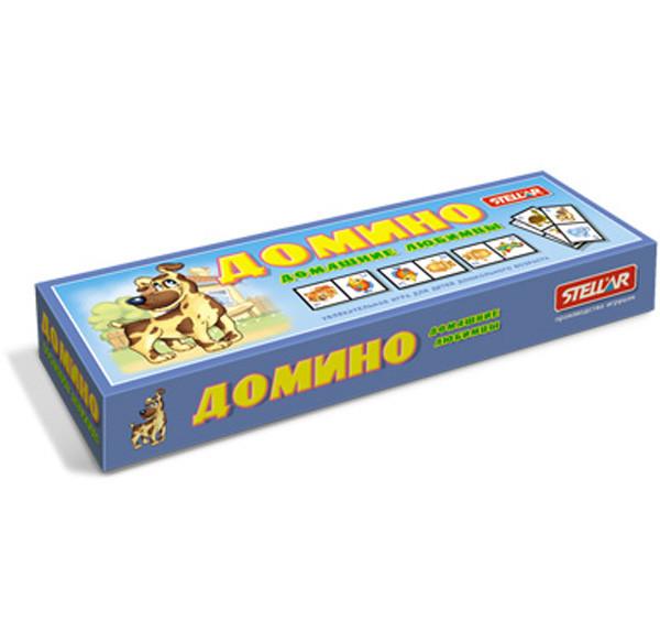 Домино большое Домашние любимцы 3+