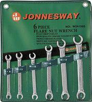 Набор ключей гаечных разрезных в сумке, 8-19 мм, 6 предметов W24106S