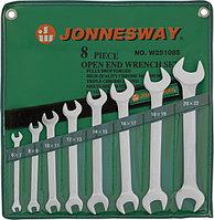 Набор ключей гаечных рожковых в сумке, 6-22 мм, 8 предметов W25108S