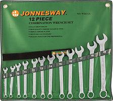 Набор ключей гаечных комбинированных в сумке, 8-22 мм, 12 предметов W26112S