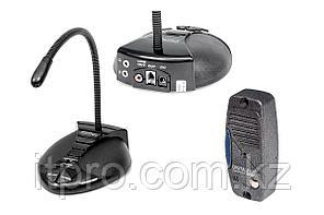 Digital Duplex 215Т Long. Переговорное устройство клиент-кассир, удлинённая стойка микрофона