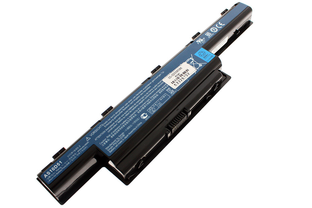 Аккумулятор для ноутбука Acer AC4741/5741/5750 AS10D31 10,8 В/ 4400 мАч, черный