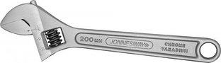 W27AS8 Ключ разводной, 0-24 мм,  L-200 мм