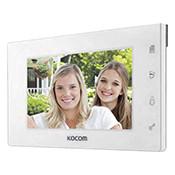 Монитор видеодомофона KOCOM KCV-504 (W) MIRROR