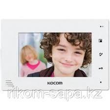 Монитор видеодомофона KOCOM KCV-A374(W)