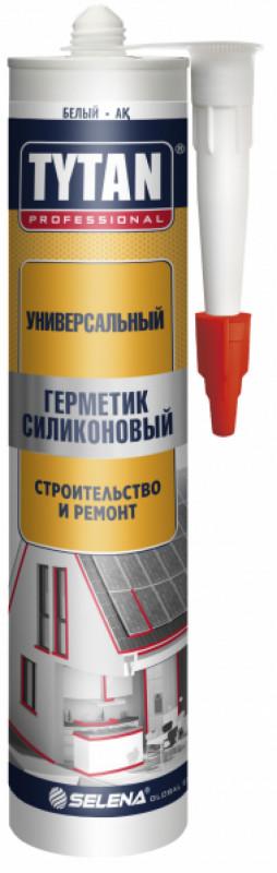 Герметик силиконовый бесцветный универсальный  310 мл TYTAN Professional