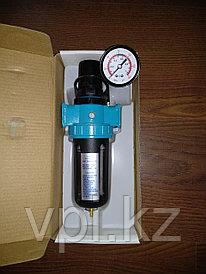 Фильтр масло-влагоотделительный одинарный, большой с манометром AFR-80-02