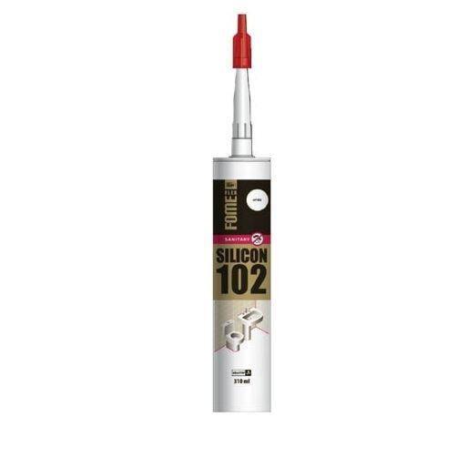Герметик силиконовый серый 102 310 мл FOME FLEX