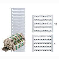 0460660001 DEK 5 FSZ 1-10 Dekafix, Маркировка клеммы, 5 x 5 mm, Шаг в мм (P): 5.00 Weidmuller, белый