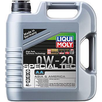 Моторное масло Liqui Moly special tec AA 0W20 4L