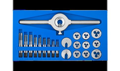 Набор метчиков и плашек малых размеров, 28109-H31 31 предмет серия «ПРОФЕССИОНАЛ», фото 2