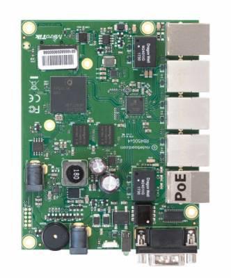 Материнская плата MikroTik RB450Gx4
