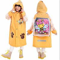 """Детский дождевик с капюшоном и карманами """"Пчёлка"""""""