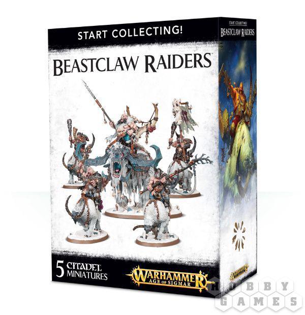 Warhammer: START COLLECTING! BEASTCLAW RAIDERS