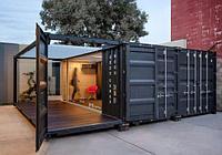 Утепленный жилой дом из контейнеров на заказ, фото 1