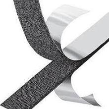 Крепежная лента липучка Hook & Loop на клеевой основе 20mm (25 метров в рулоне)