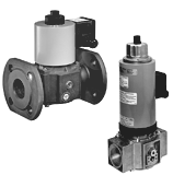 Двухступенчатые электромагнитные клапаны DUNGS ZRDLE, ZRD, ZRLE