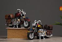 Сувенирный мотоцикл копилка, интерьерный 26*16см