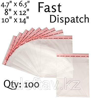 Пластиковые пакеты с застёжками zip, 100 микрон, фото 2