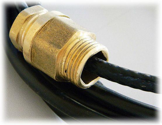 Нагревательный  кабель 17HTM2-CT(пищевой в трубу)