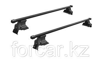 Багажник  D-LUX универсальный для гладкой крыши с креплением за дверной проем, фото 2