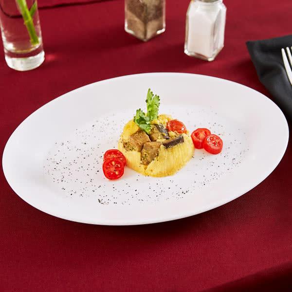 Блюдо овальное Arcoroc(Франция) Resaturant 290х214 мм