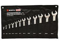 Набор рожковых двойных ключей (WS6-32) 12 шт.