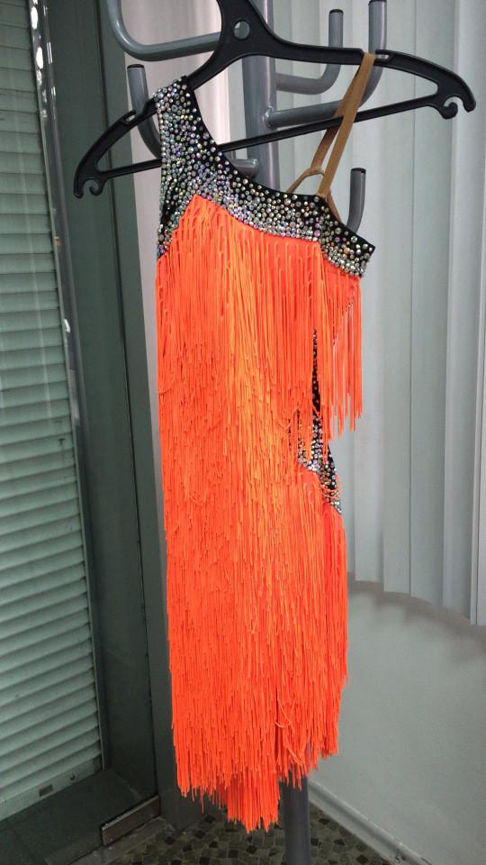 Женское платье для латины