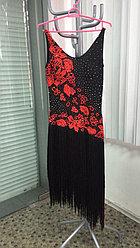 Черное платье для латины