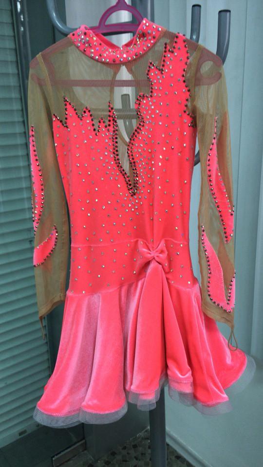 Платье для танца для девочки