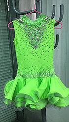 Платье детское для танцев