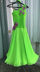 Платье бальное для танцев