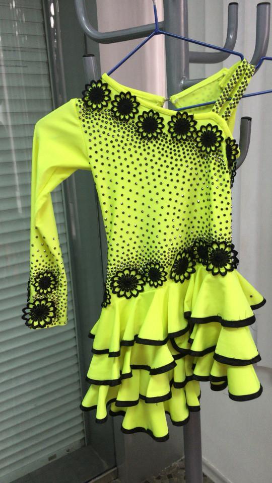 Детское платье для танцев