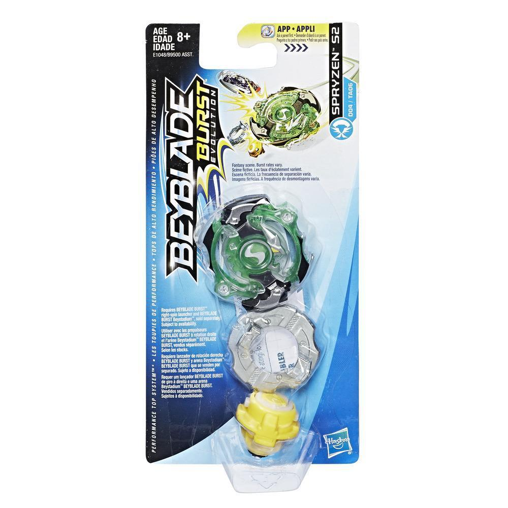 Hasbro Bey Blade Burst Волчок Бейблэйд Spryzen S2 D04/TA06