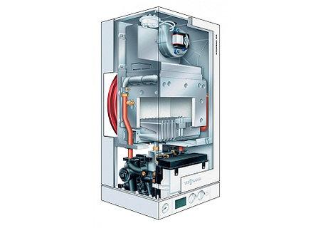 Настенный газовый котел Viessmann VITOPEND 100W, (без дымохода), 34 кВт, фото 2
