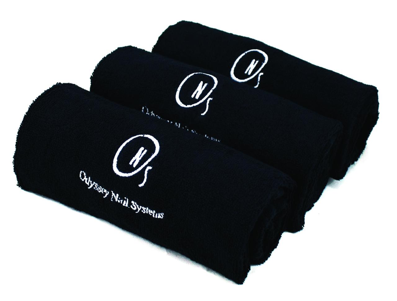 Черное настольное полотенце ONS