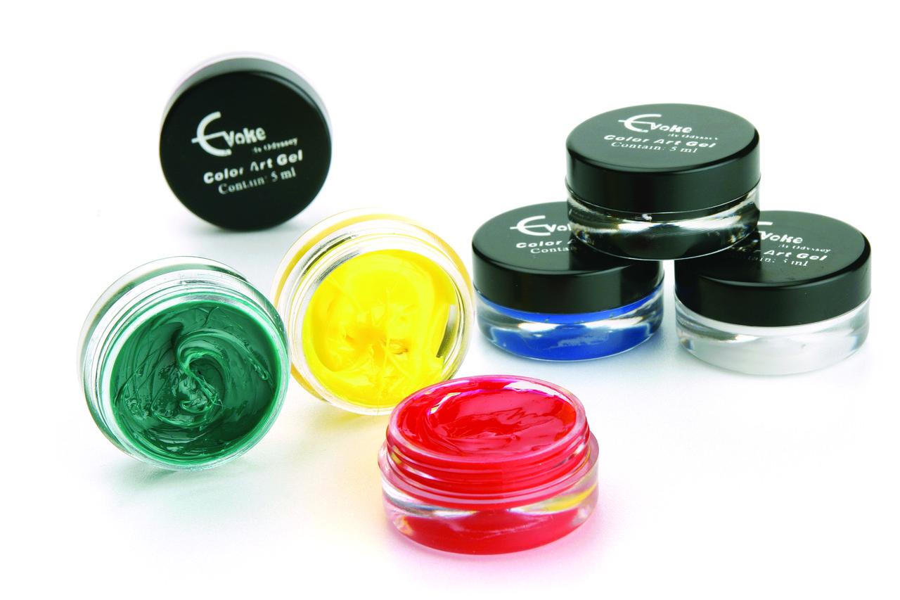 Коллекция цветных гелей EVOKE