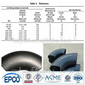 Отводы (локти) из углеродистой стали оцинкованные ASTM420, фото 2