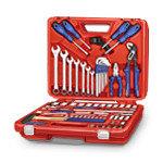 Наборы инструментов в чемоданах