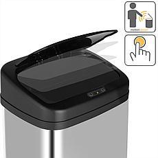 Корзина для мусора сенсорная Binele WS35LM Lux, 35 литров, матовая, фото 3