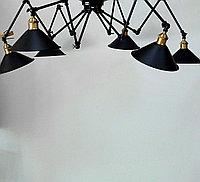 Люстра-паук лофт, фото 1