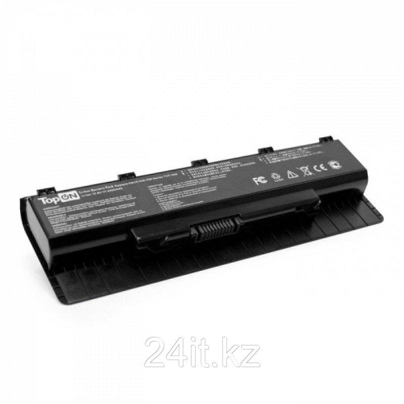Аккумулятор для ноутбука Asus A32-N56/ 11,1 В (совместим с 10,8 В)/ 4400 мАч, черный