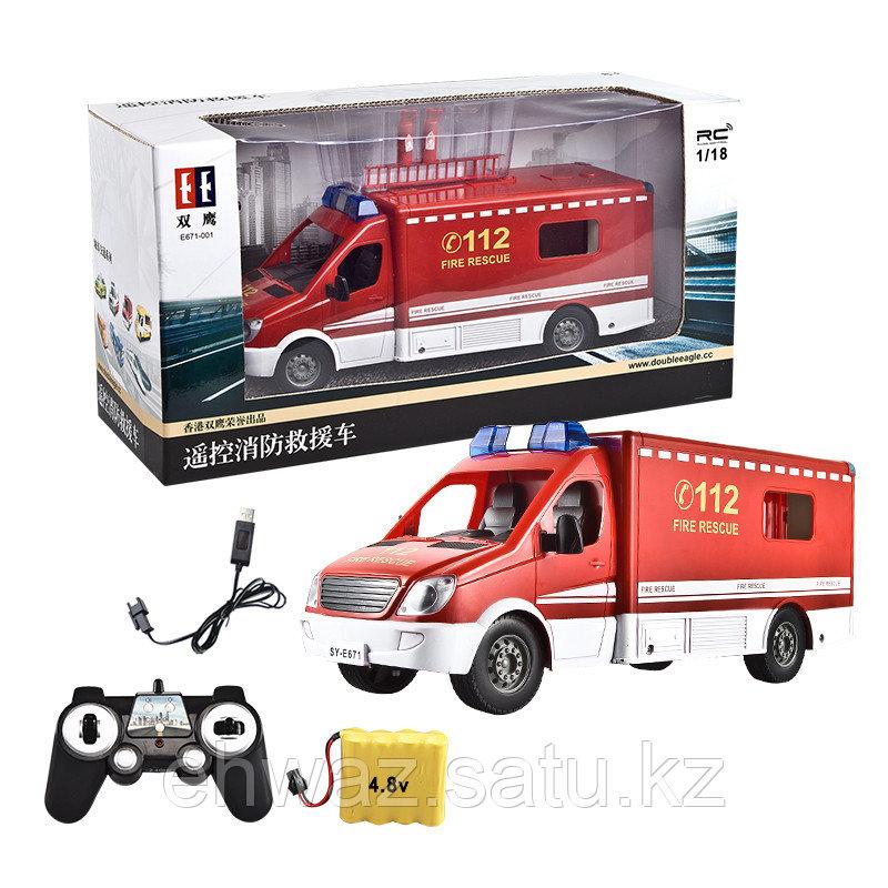 Игрушка пожарная машина на пульте управления